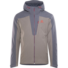 Salomon La Cote 2L Jakke Herrer, graphite/rabbit